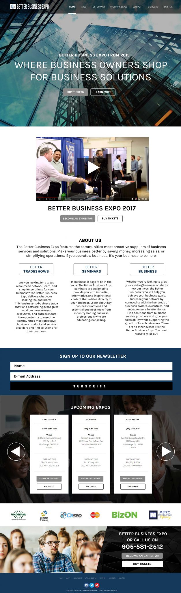 Better Business Expo Website
